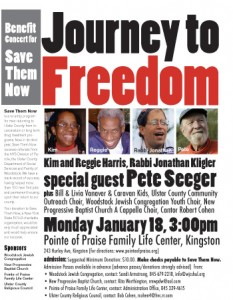 JOURNEY TO FREEDOM A Benefit Concert for  SAVE THEM NOW Monday, January 18th, 3 pm
