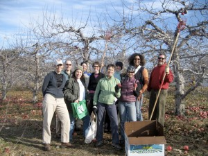 Thank you to our Little Dog/Liberty View Orchard Glean Team!