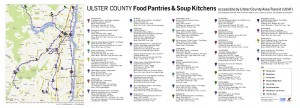 Map of Food Pantries + UCAT Bus Routes