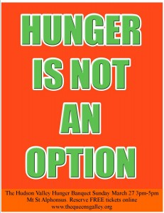 Hunger is Not an Option