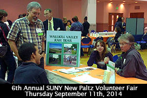SUNY New Paltz Voluntee Fair