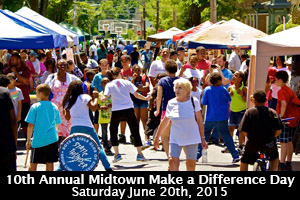 10th Annual Midtown Make a Difference Day
