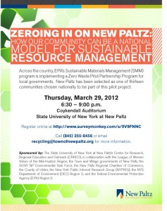 FORUM: Zeroing in on New Paltz: How our community can be a national model for sustainable resource management