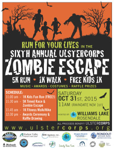 Run for you Lives in the 6th Annual Zombie Escape