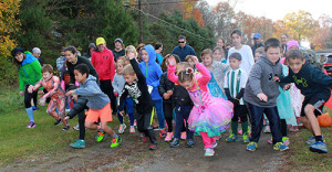 2015 Kids Fun Run Start. photo: Anne Coleman