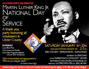 MLK Day Celebration of Service 2016