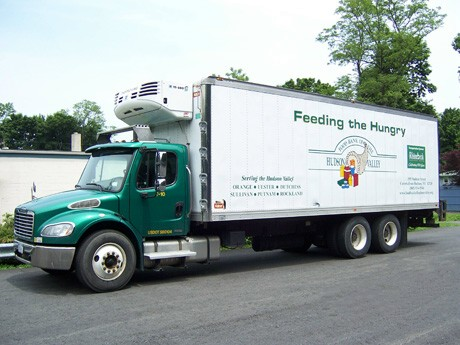 Food Bank Delivery  to Kingston Hunger Relief Programs