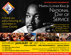 MLK Day Celebration of Service 2017