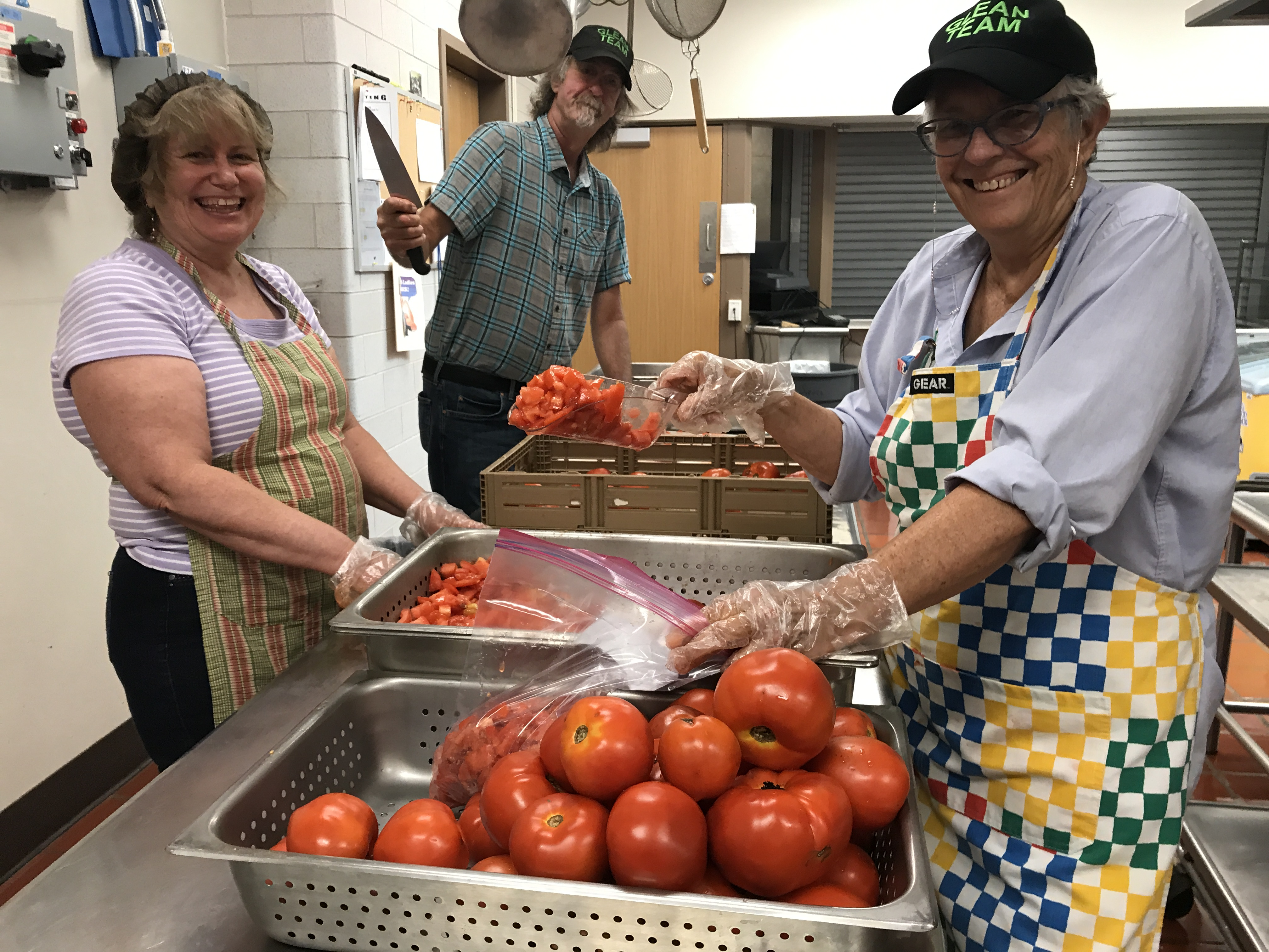 Farm to Food Pantry Processing